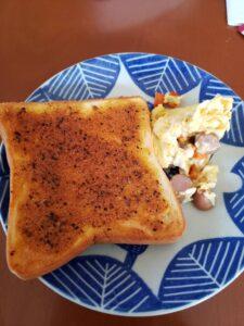ぬって焼いたらカレーパン,カルディ,アレンジ